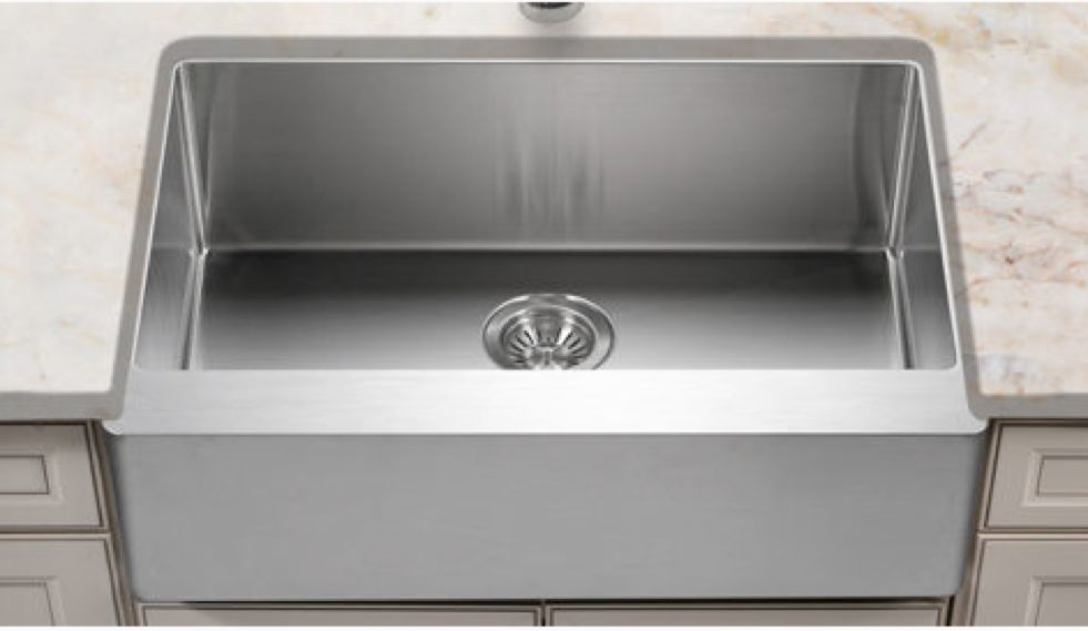 30 Stainless Steel Apron Front Sink Stainless Steel Farmhouse