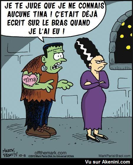Cartoons halloween truc drole et phrase - Image halloween drole ...