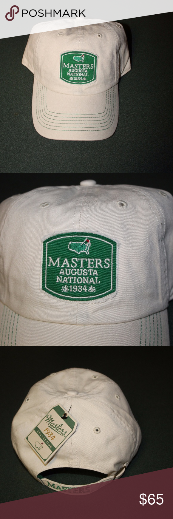 c5366e4c9bd68 Masters Golf Hat 1934 Collection American Needle Brand  American Needle  Item  Masters Golf Hat