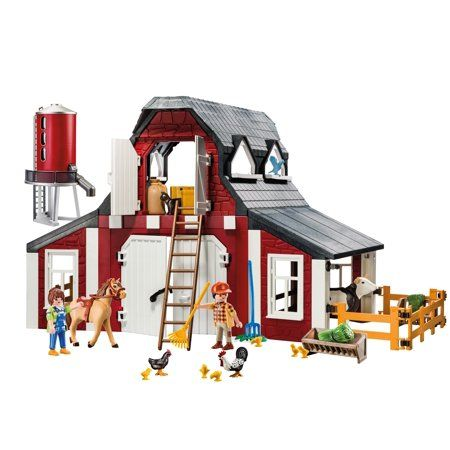 Free 2-day shipping on qualified orders over $35 Buy PLAYMOBIL Barn