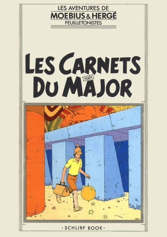 Les Aventures de Tintin - Album Imaginaire - Les Carnets du Major