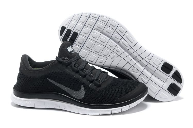 the best attitude 0cad4 26a3d Black Metallic Silver Anthracite Nike Free 3.0 V5 Women s Running Shoes