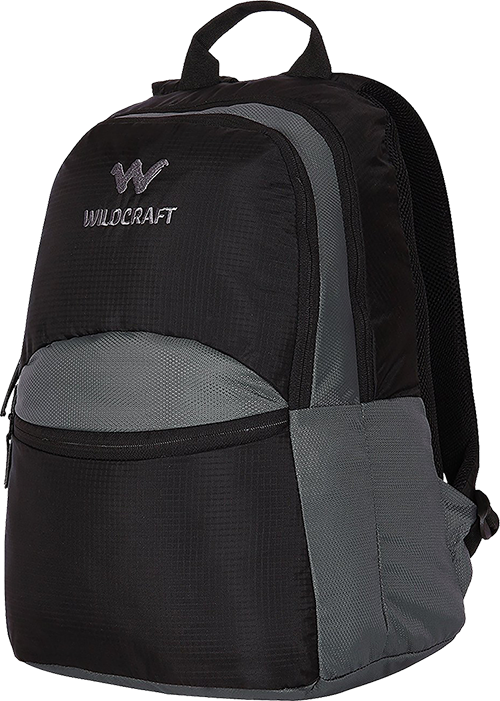 ca2c73a3e4e Buy Wildcraft 30 Ltrs Black Casual Backpack (8903338045274) from Amazon.
