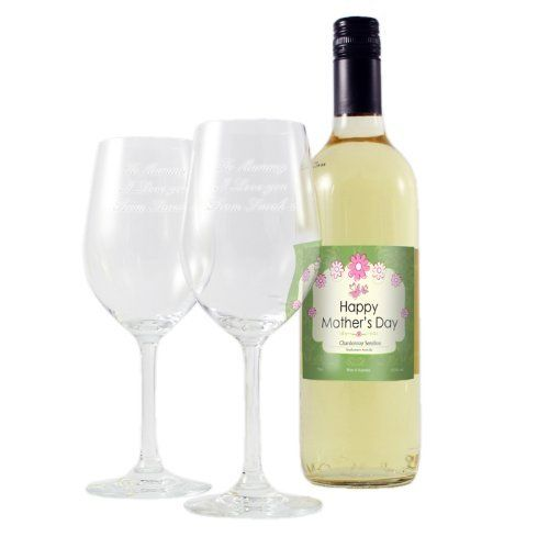 Personalised Two Glasses and Mothers White Wine Set - Free Personalisation by Gift Cookie, http://www.amazon.co.uk/dp/B00C9VF530/ref=cm_sw_r_pi_dp_c0Tmtb0JNJD0M