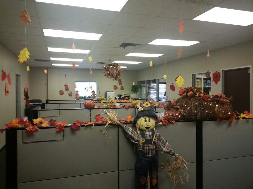 Office Fall Decor With Images