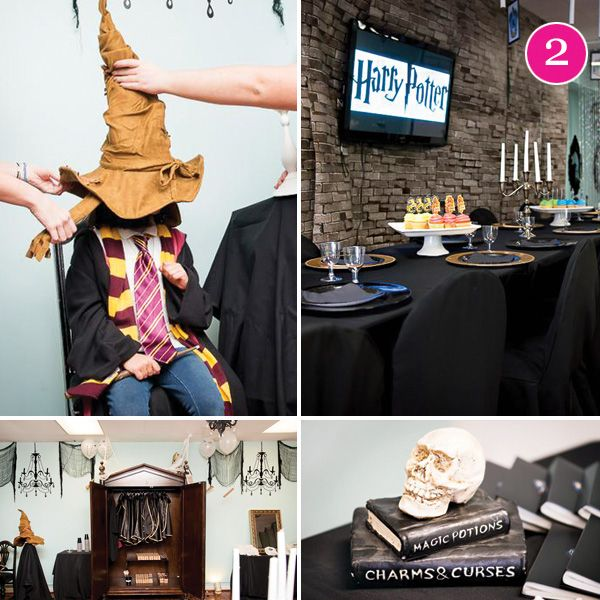 Harry Potter sorting hat activity