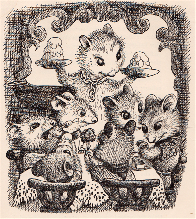"""""""The Turret"""" written by Margery Sharp, illustrated by Garth Williams (1963)"""