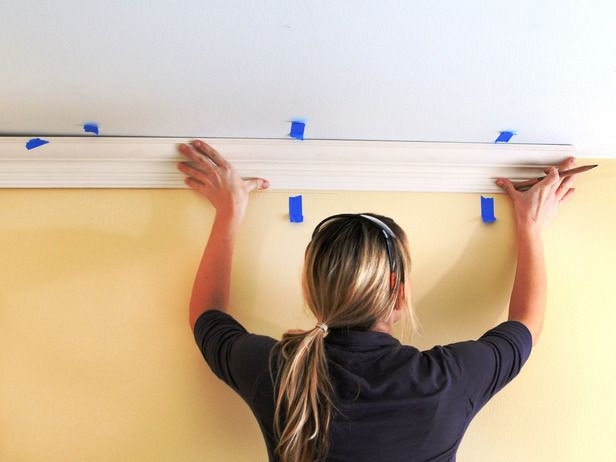 How To Hang Crown Molding Diy Home Improvement Home Improvement Home Repairs