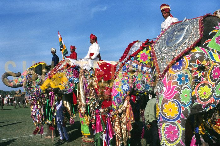 It really doesn't get more colorful than Rajesthan, India.
