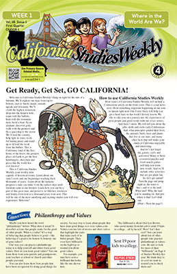 California Studies Weekly - weekly newsletter for 4th ...