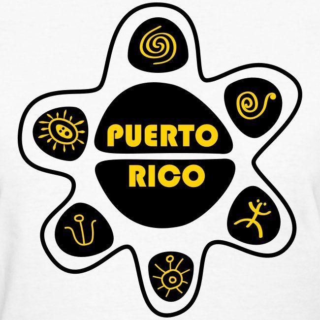 Símbolos Taínos Women Womens T Shirt Taino Code T Shirts For
