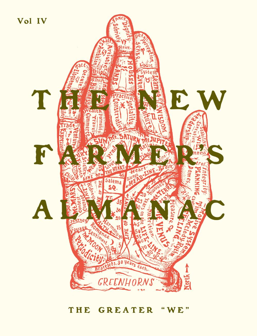 The New Farmer's Almanac Volume IV Farmers almanac