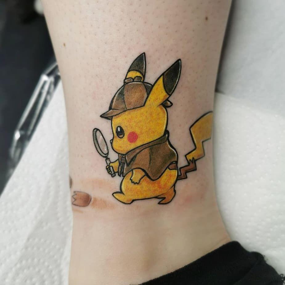 Pin By Logan Mott On Art Tattoo Pokemon Tattoo Pikachu Tattoo Tattoos