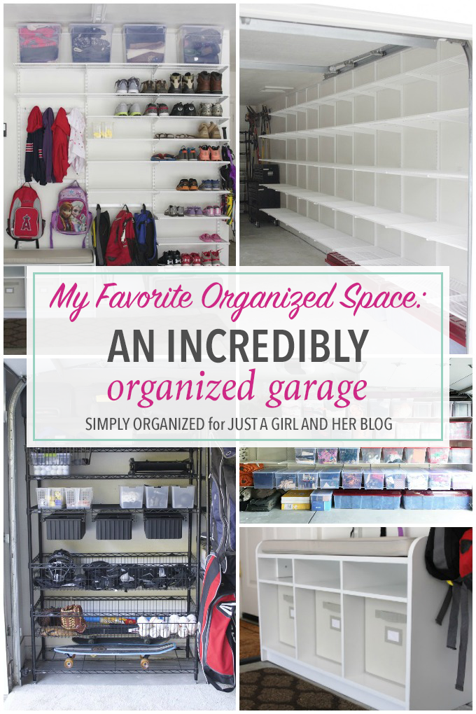 An Incredibly Organized Garage Garage Organization Tips Garage