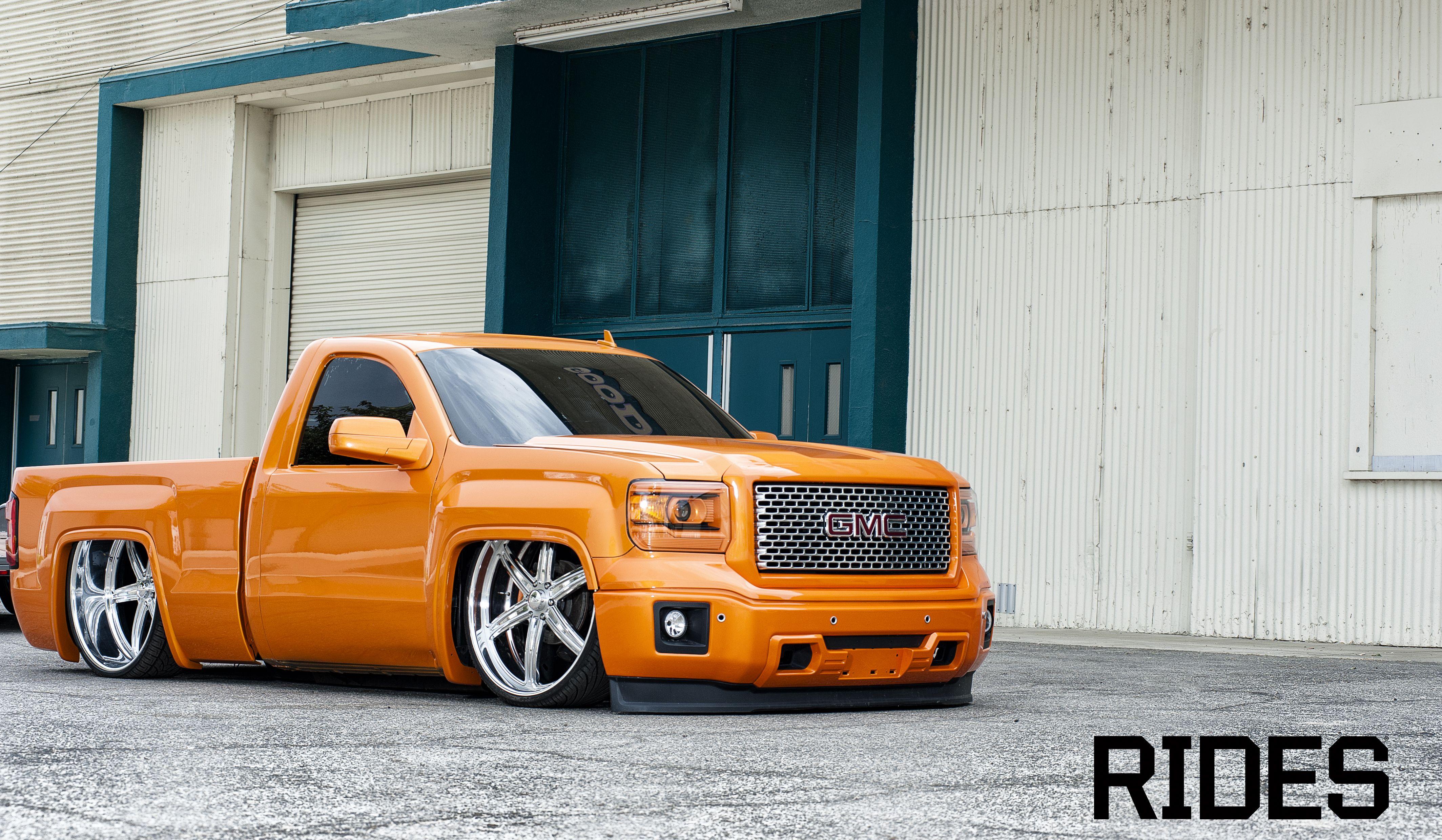 2014 GMC   Dropped trucks, Custom cars, Chevy trucks