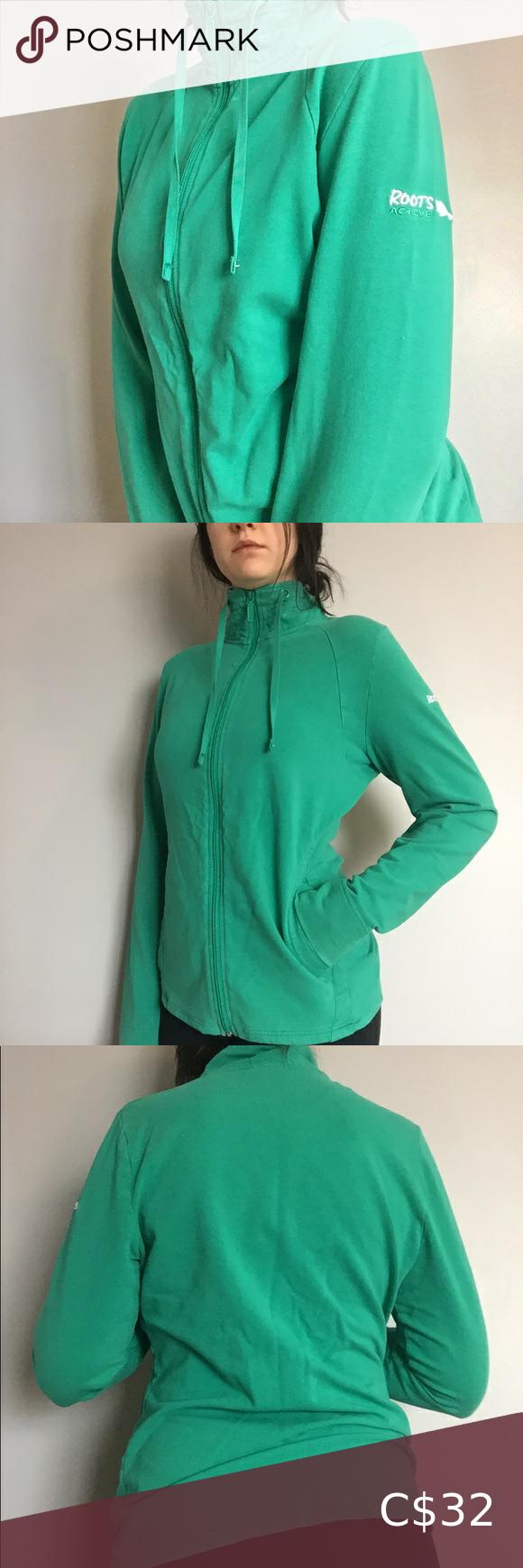 Roots Zipper Sweater