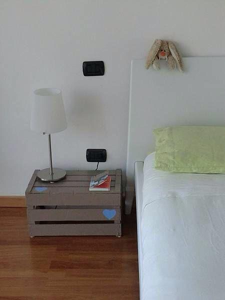 Comodino Fai Da Te Comodino Fai Da Te Arredamento Riciclato Idee Per La Casa