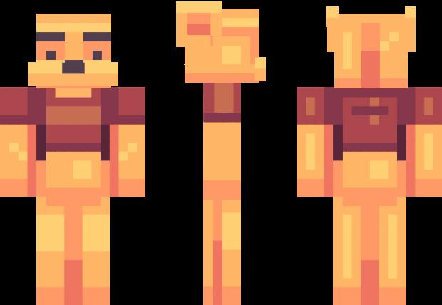 Winnie The Pooh Minecraft Skin