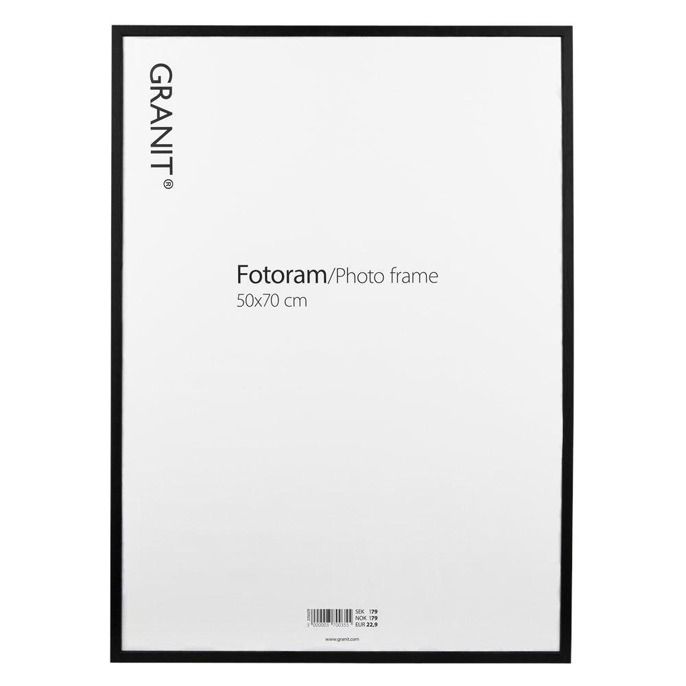 Fotoram 50x70 cm Svart | Fotoram, Ramar, Granit