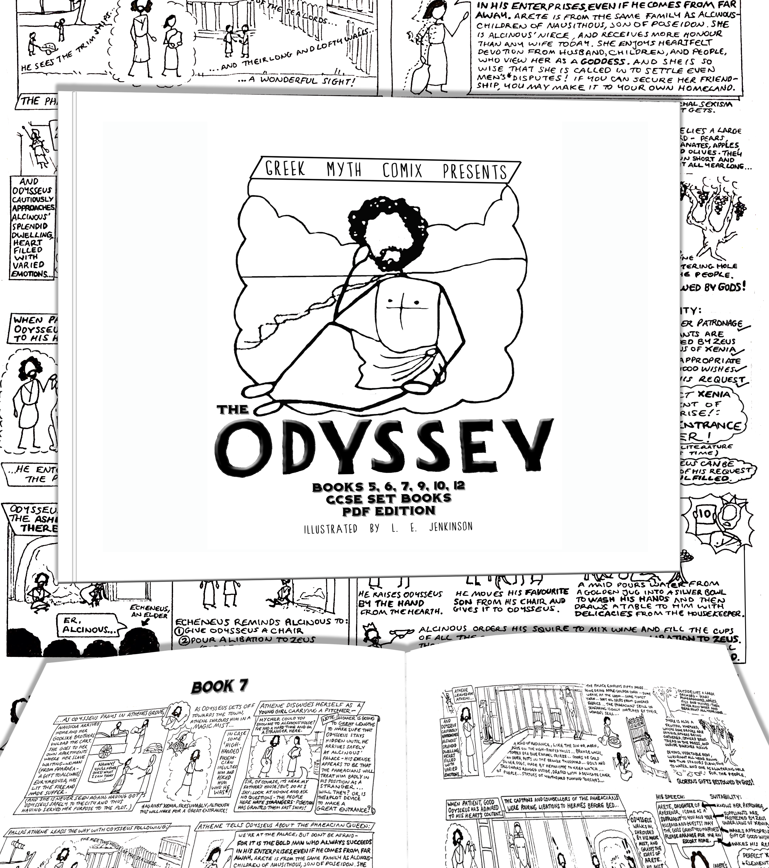 the odyssey book 7 the o jays book and comic greek myth comix presents the odyssey set books for gcse as a pdf or class