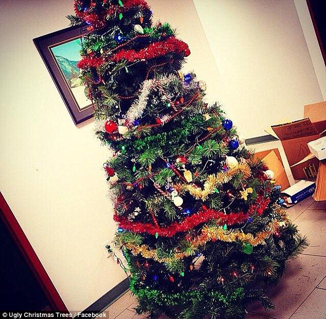 Image Result For Badly Decorated Christmas Tree