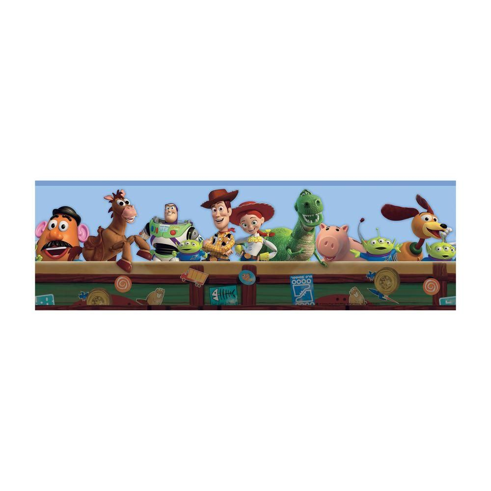 York Wallcoverings Disney Kids Toy Story Wallpaper Border