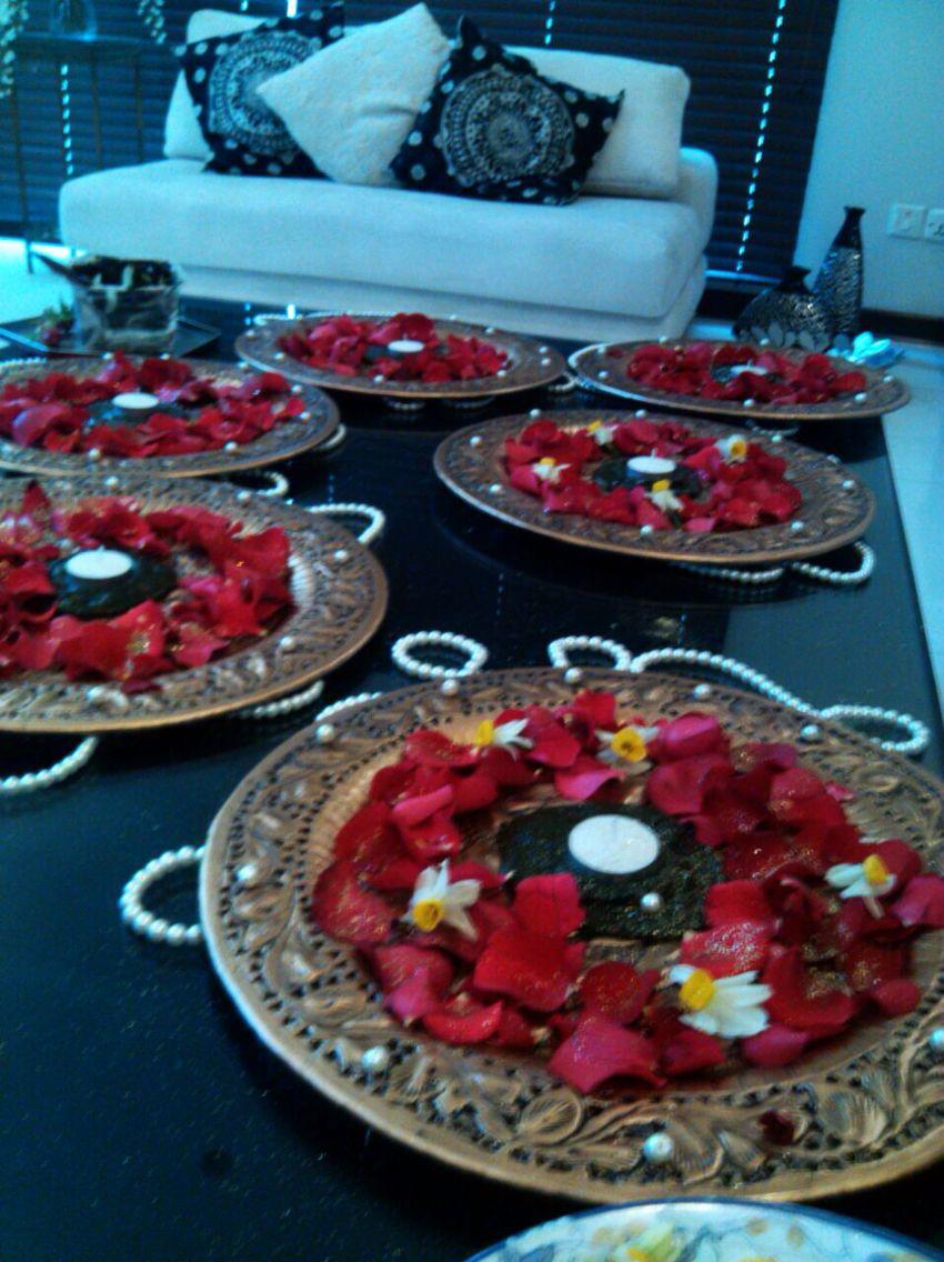 Mehndi Party Trays : Mehndi thaals pak wedding pinterest
