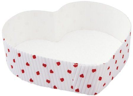 Disposable Valentine Heart Baking Pans:: Love The Day Favorites