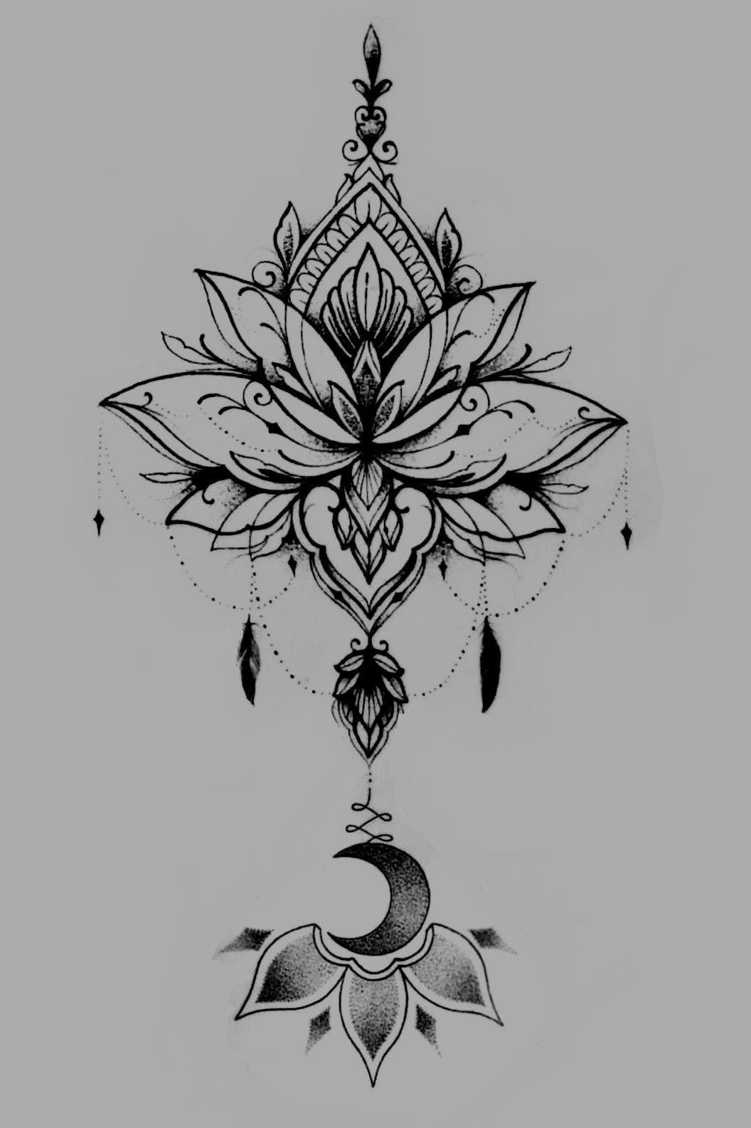 Tattoodo Mandala Tattoo Design Lotus Mandala Tattoo Lotus Tattoo Design