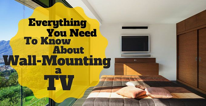 The decision to wall mount your TV is not one that should be taken lightly. That's why we've put together this comprehensive guide to TV wall mounting.