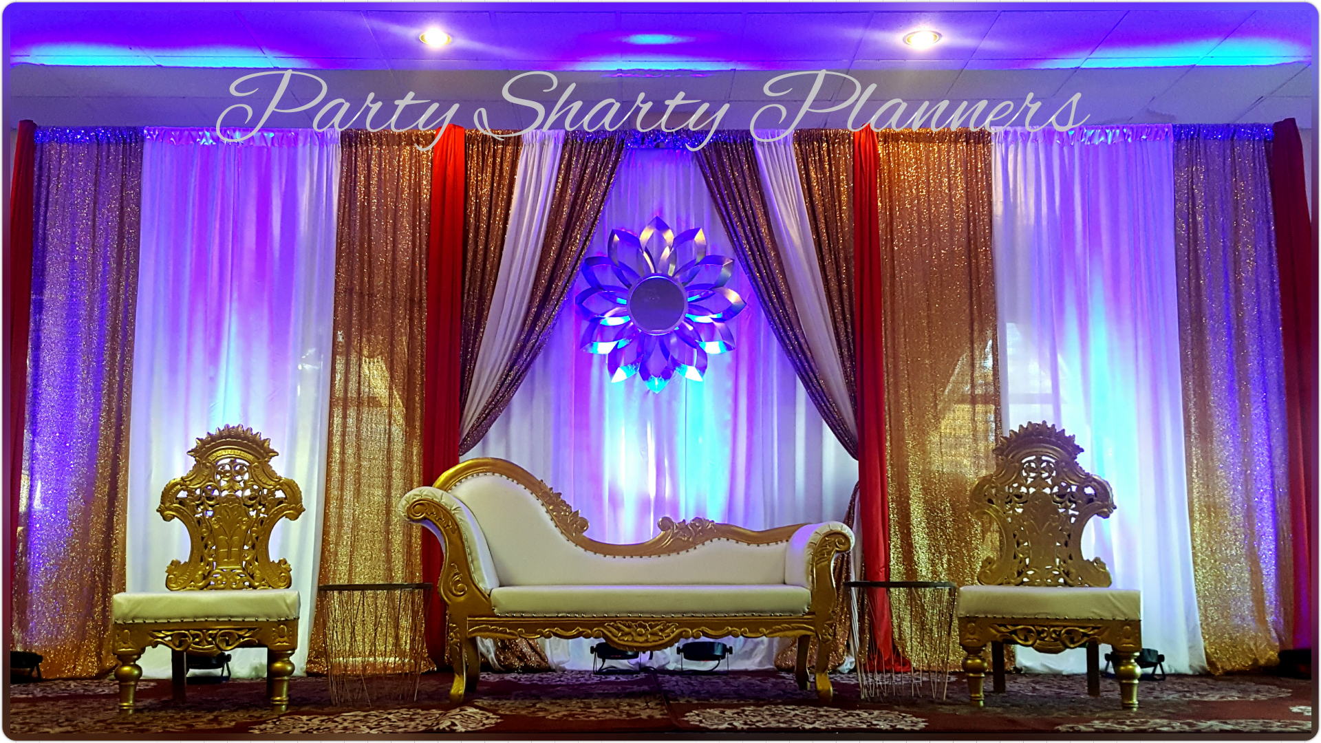 Wedding Backdrop By Party Sharty Planners in CT (With images ...