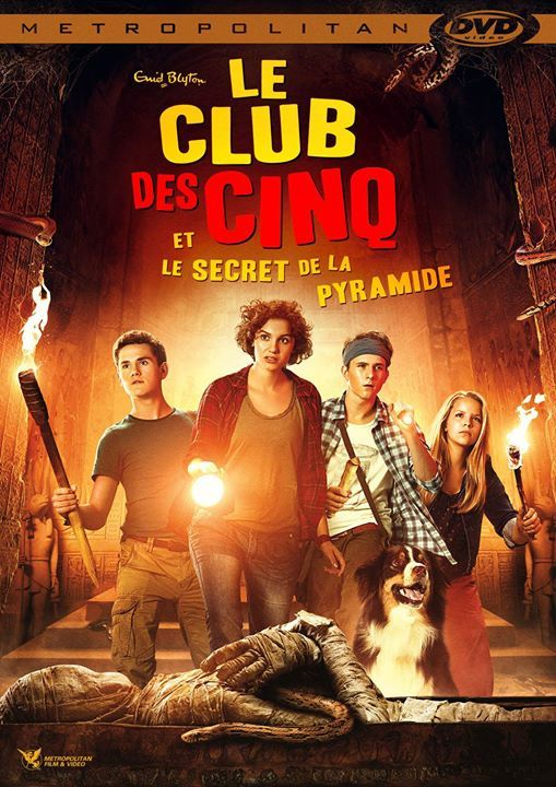 Le Club Des 5 Film : Découvrez, Bande-annonce, Secret, Pyramide, Http://xfru.it/oMo1LY, Movie, Posters,, Movies,, Poster