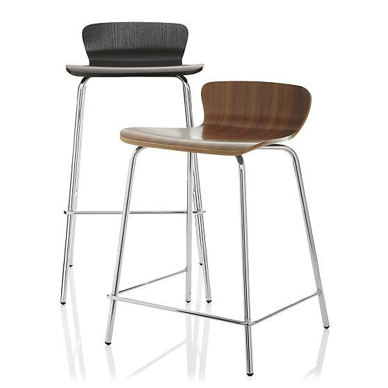 Felix 30 Espresso Barstool In Barstools Crate And Barrel Bar