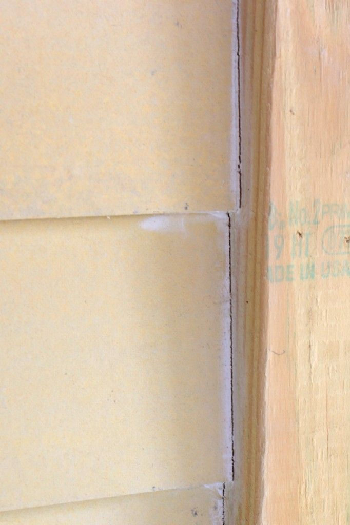 How To Caulk Exterior Siding And Why Not To Caulk Fresh Pressure Treated  Wood By Karah