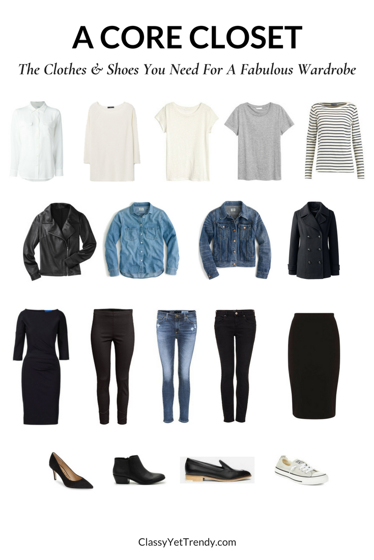 26092c007956 How To Create Outfits With A Core Closet: 6 Outfit Ideas | Capsule ...