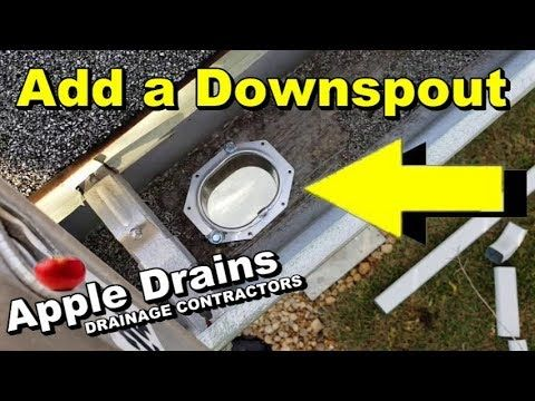 How To Add A Downspout Your Gutter You Greeneries