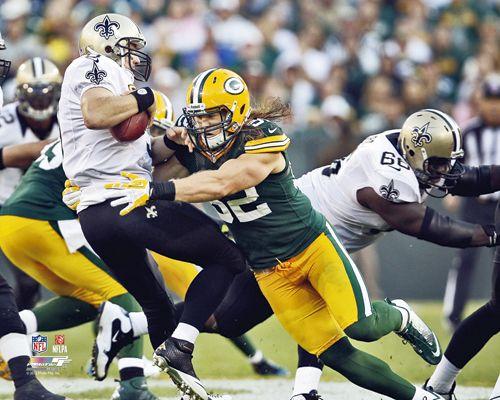 2012 Clay Matthews Sacks Drew Brees Green Bay Packers Licensed Poster 8x10 Photo Green Bay Packers Saints Vs Green Bay