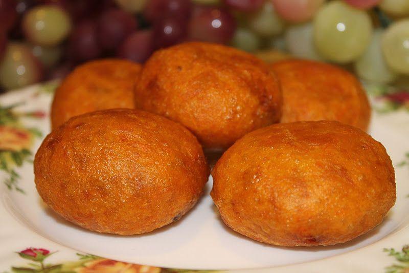 Azie Kitchen Kuih Cucur Badak Asian Desserts Malaysian