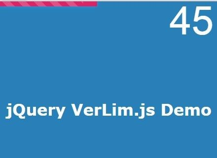 Simple Custom Reading Indicator with jQuery - VerLim js | jQuery