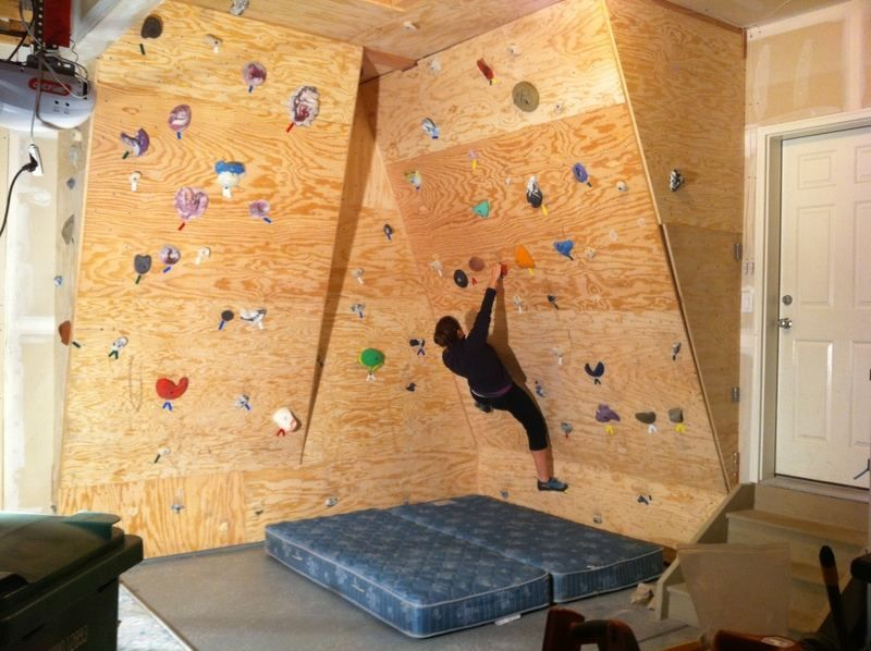 Huge Article On Building An Amazing Home Climbing Wall. Tons Of