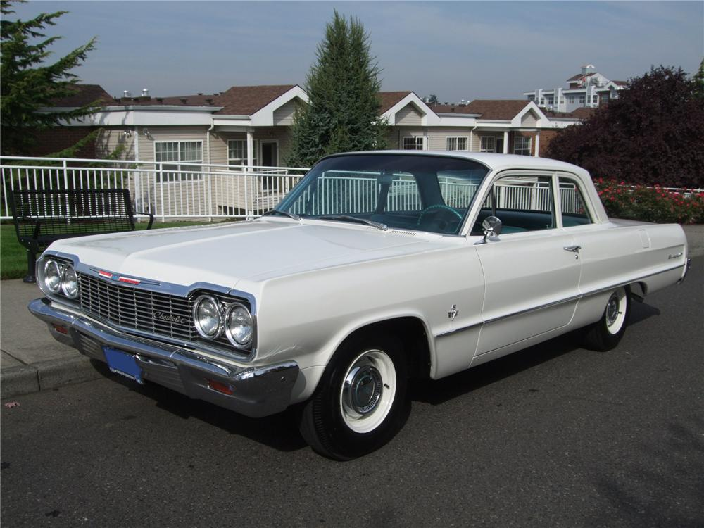 1964 Chevrolet Biscayne Lot 755 Barrett Jackson Auction Company Chevy Muscle Cars Chevrolet Biscayne