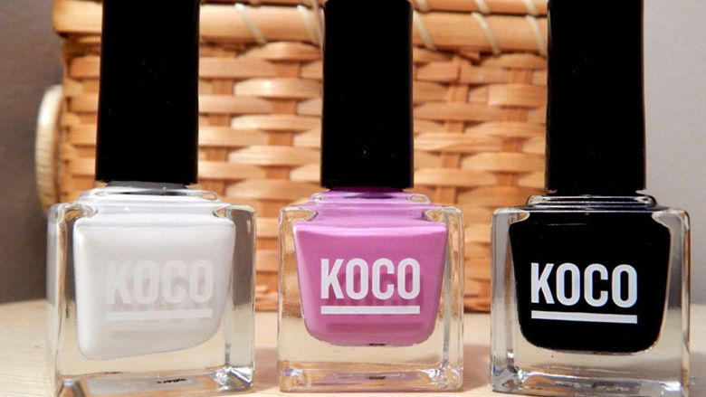 7 of the best nail polishes – Beauty Brands Koco nail polish | Nail ...