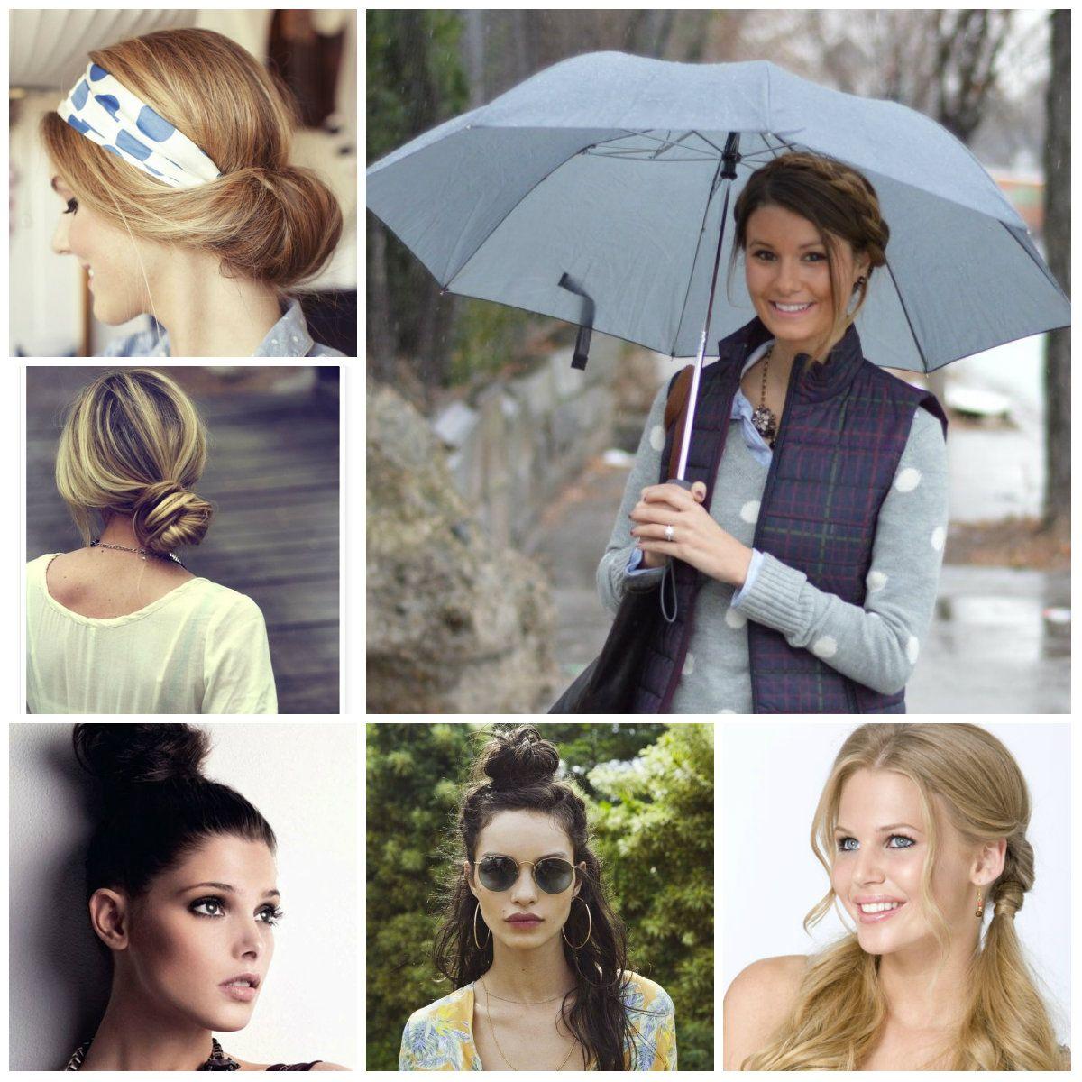 Coiffures décontractées pour les jours de pluie Styles
