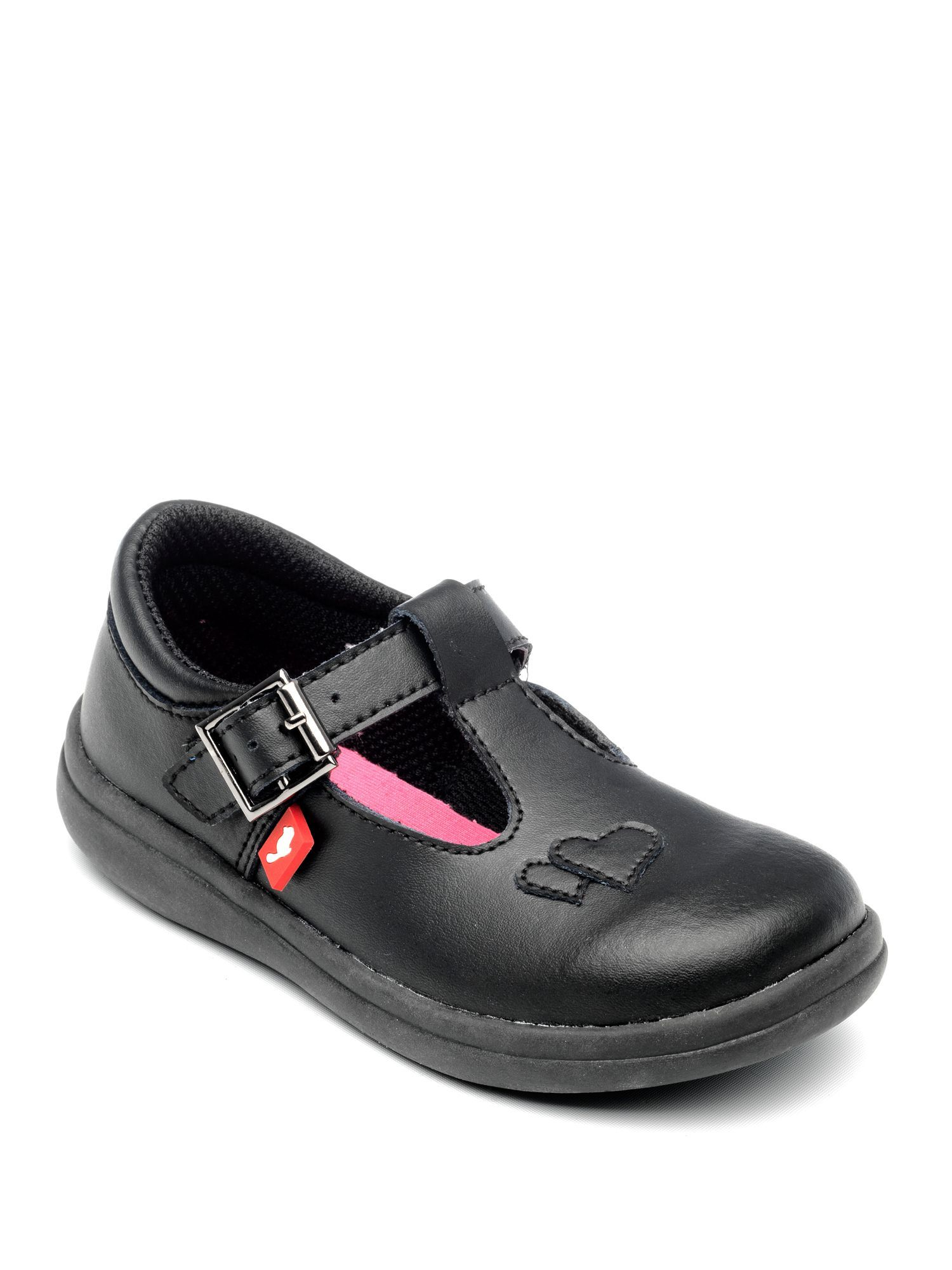 New Infants Chipmunks Black Trixie Leather Shoes Flats Buckle