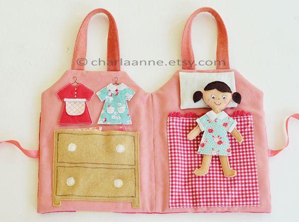 Adorable doll house on-the-go