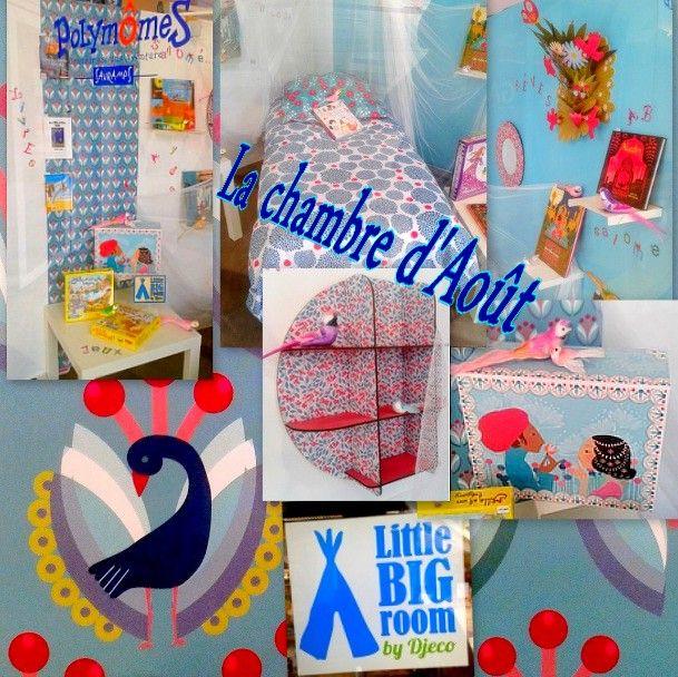 Comme tous les mois, Polymômes vous propose une déco de chambre d'enfant. N'hésitez pas à venir sur place pour voir notre vitrine en détail !
