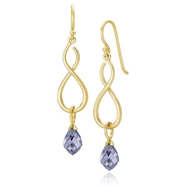 infinity jewelry designs infinity drip drop earrings product name