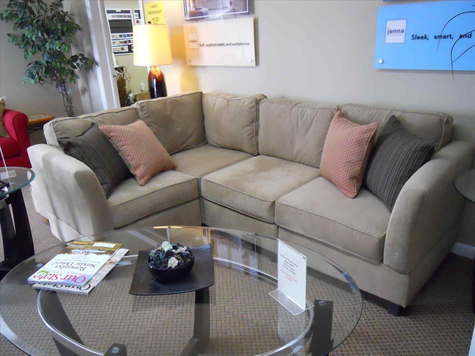 Apartment Size Sofa Sectionals Then Get A Little Custom Sectional Couch If Your Room Is Too Even For Sect