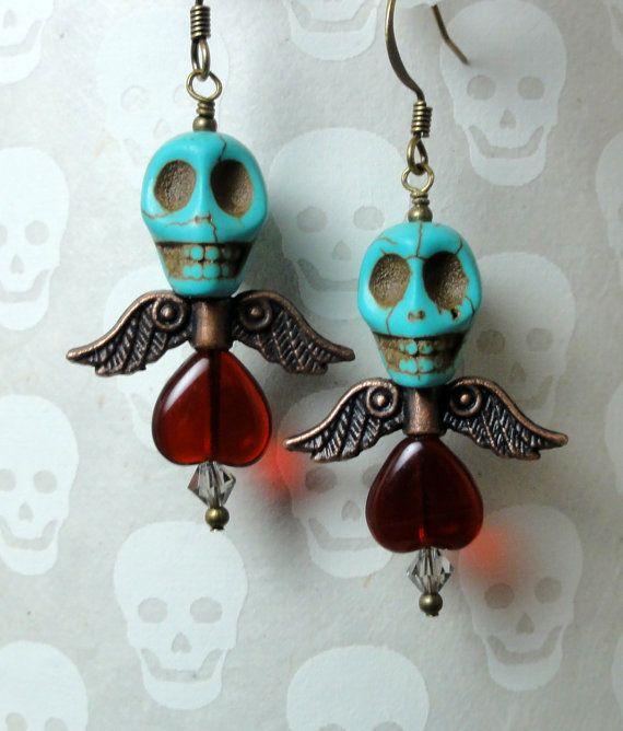 Dia de los Muertos Earrings - Calavera Earrings