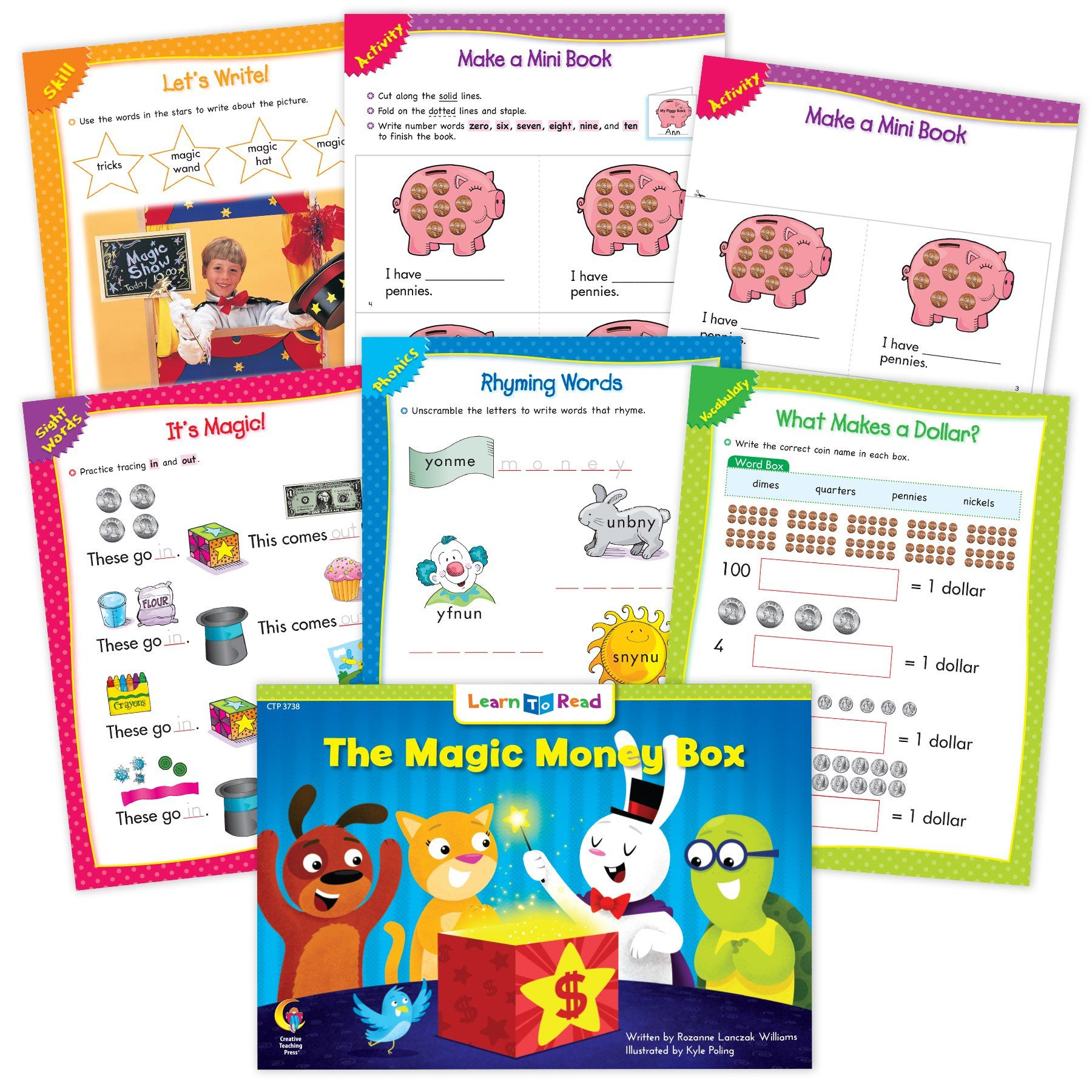 The Magic Money Box Ebook Amp Worksheets In